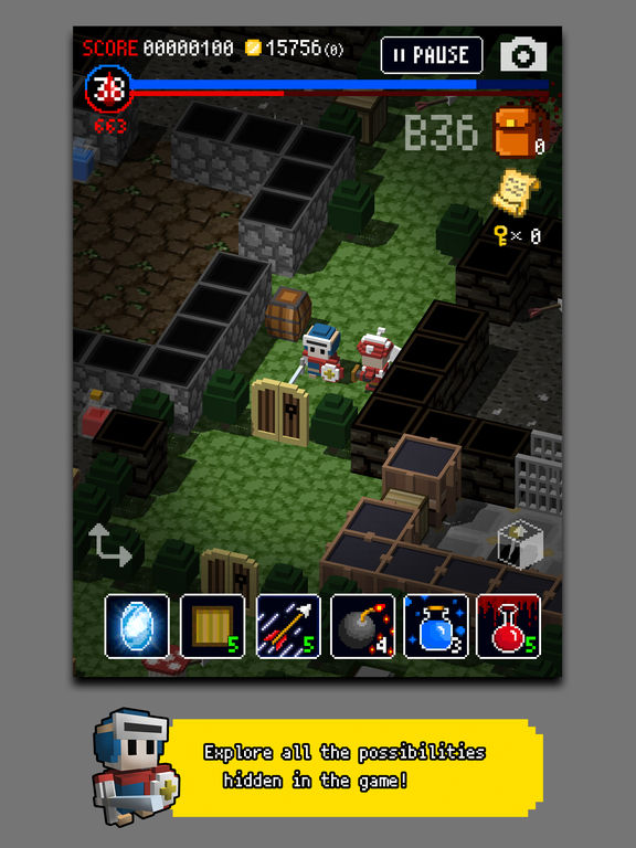 Dungeon of Gravestone iPhone iPad