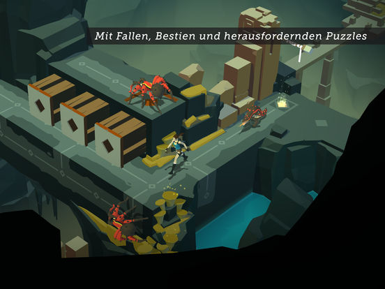 Screenshot 4 Lara Croft GO