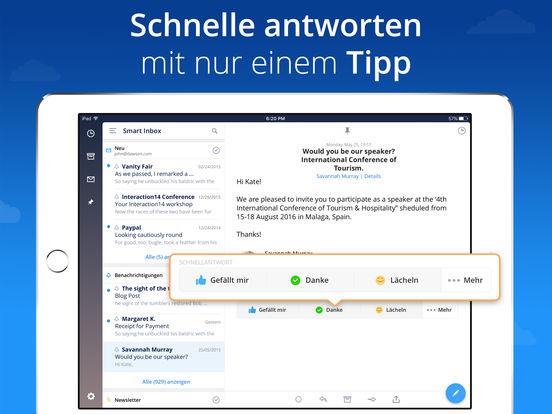 Spark - Mails die Sie mögen Screenshot