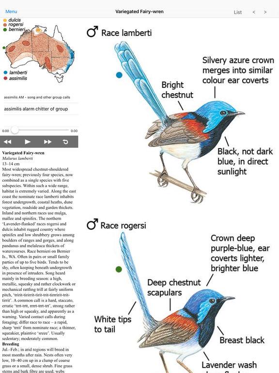 the australian bird guide app