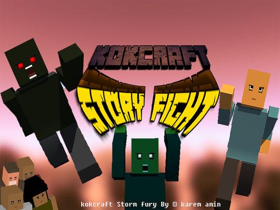 Kokcraft Story Fight Screenshots