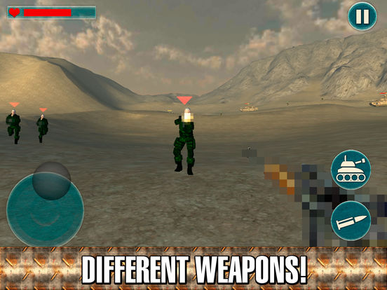 Army Commando Shooter 3D Full Screenshots