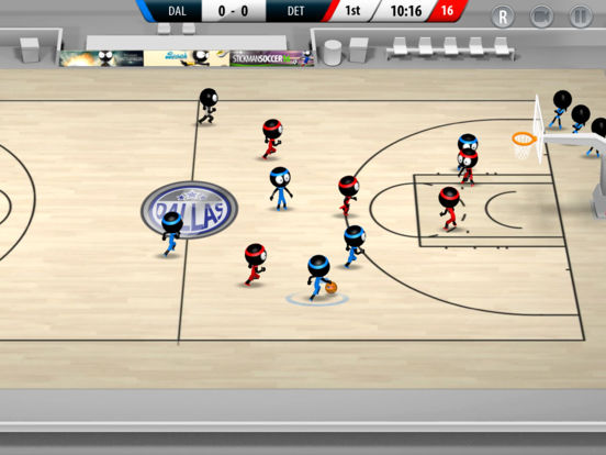 Screenshot 2 Stickman Basketball 2017