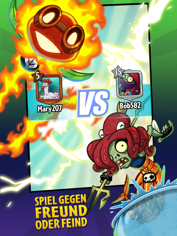 Plants vs. Zombies Heroes iOS