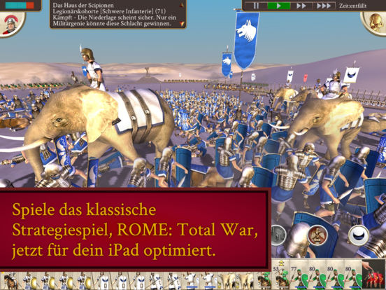 ROME: Total War iOS Screenshots
