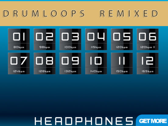 AAA³ Drumloops Remixed Producer Station (Premium) Screenshots