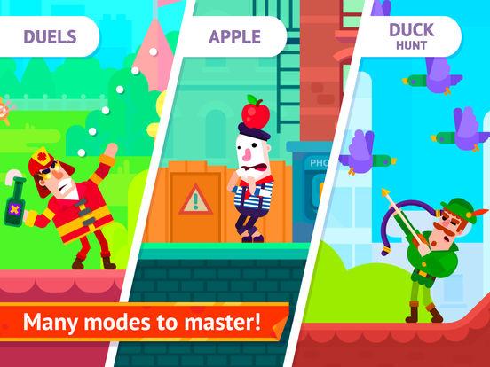 Screenshot 5 Bowmasters - Multiplayer Game