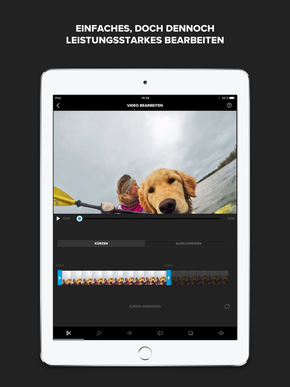 Splice - Kostenloser Video-Editor von GoPro Screenshot