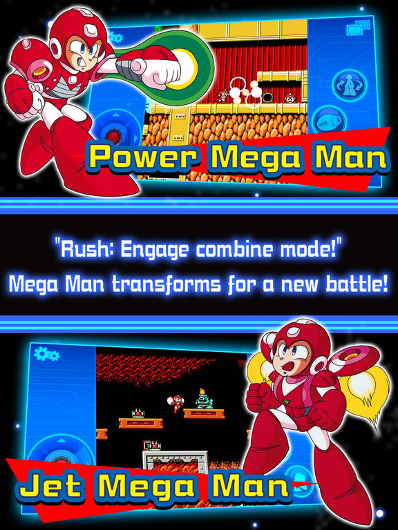Mega Man 1-6 Mobile iPhone iPad