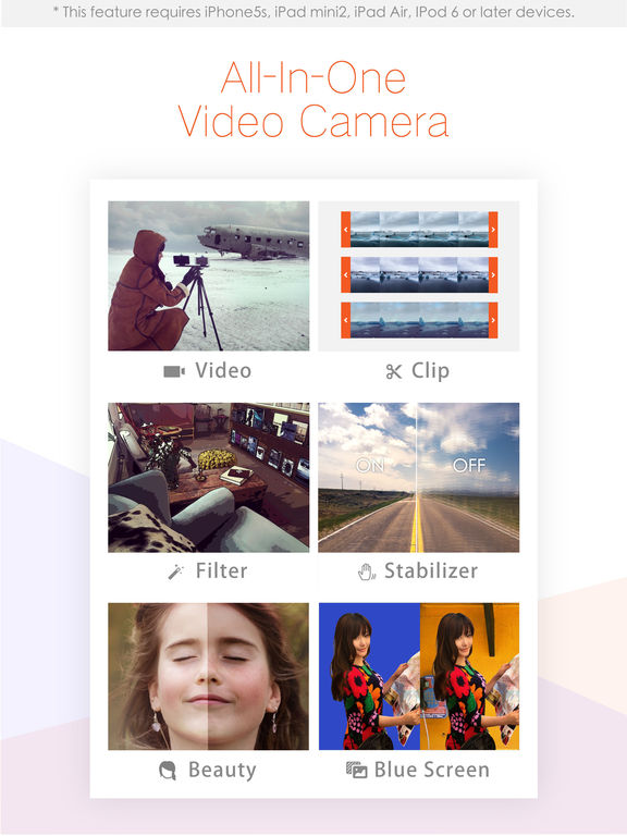 Musemage - Professional Video Camera and Editor Screenshot