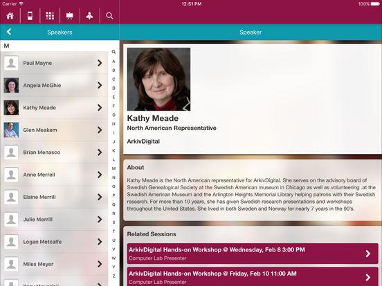 RootsTech Screenshot