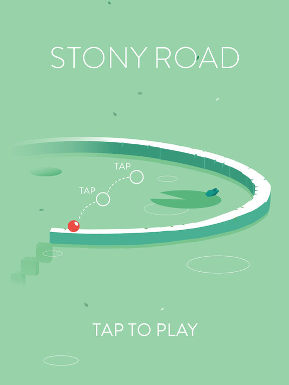 Stony Road iOS Screenshots