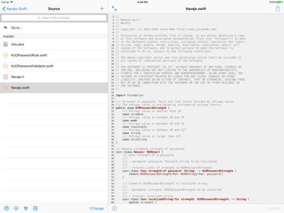 TIG - Git Client Screenshots