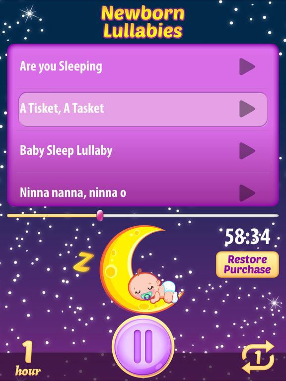 schlaflieder f r neugeborene sch ne tr ume musik im app. Black Bedroom Furniture Sets. Home Design Ideas