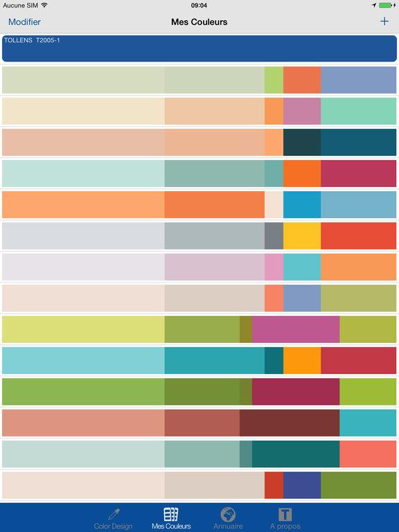 Color design sull 39 app store - Color design tollens ...