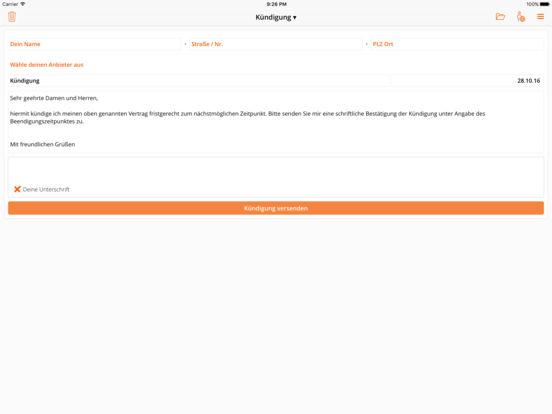 aboalarm - Verträge schnell und einfach kündigen! Screenshot