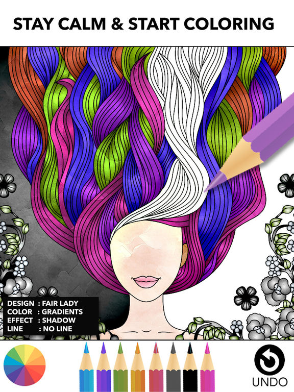Color Therapy - libro da colorare per adulti Screenshot