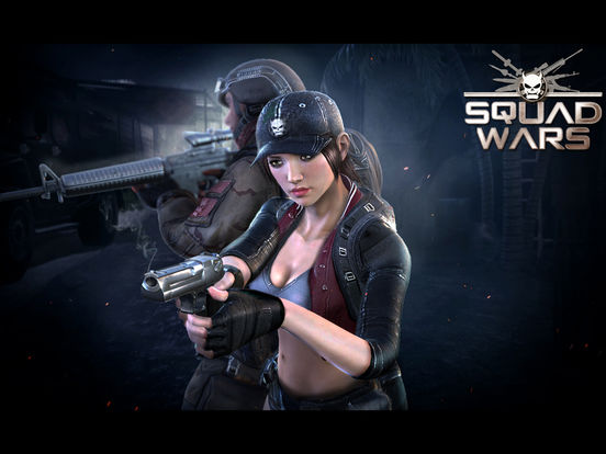 Squad Wars: Death Division iOS Screenshots