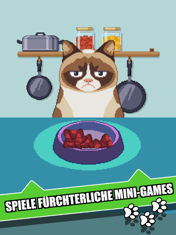 Grumpy Cat's Worst Game Ever iOS Screenshots