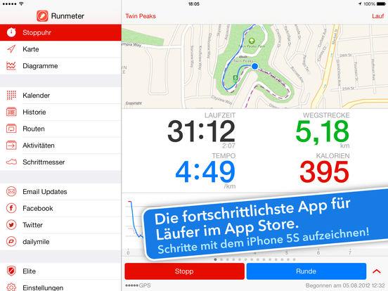 Runmeter GPS - Laufen, Walken & Radfahren Screenshot