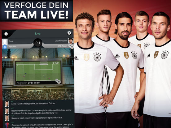 Goal One - DFB Fußball Manager Screenshot