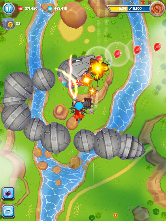 Bloons Supermonkey 2 iPhone iPad