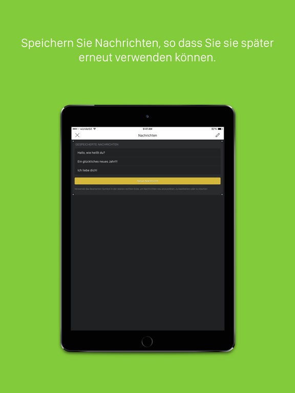 LEDit – Die LED-Banner-App Screenshot