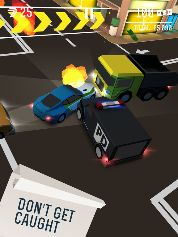 Drifty Chase iPhone iPad