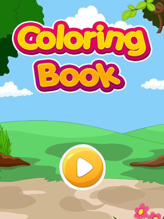 Animali pagine da colorare per bambini girl boy sull 39 app - Pagine da colorare per cani weiner ...