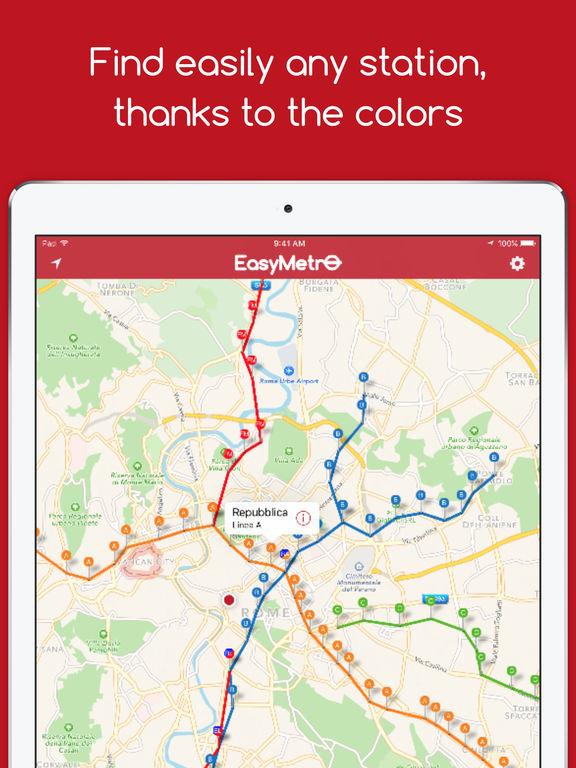EasyMetro Rome - The Best Rome Metro Guide Screenshot