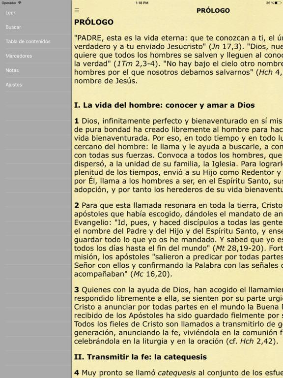 Catecismo Iglesia Católica - Catholic Catechism Screenshot
