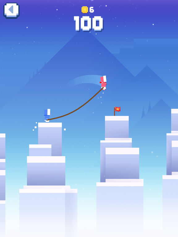 Icy Ropes iOS Screenshots