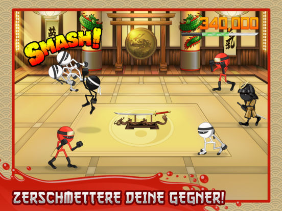 Stickninja Smash iOS Screenshots
