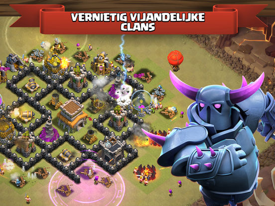 Clash of Clans iPad app afbeelding 5