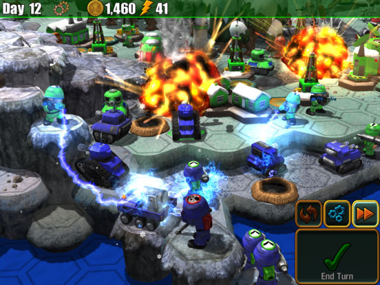 Screenshot 1 Epic Little War Game