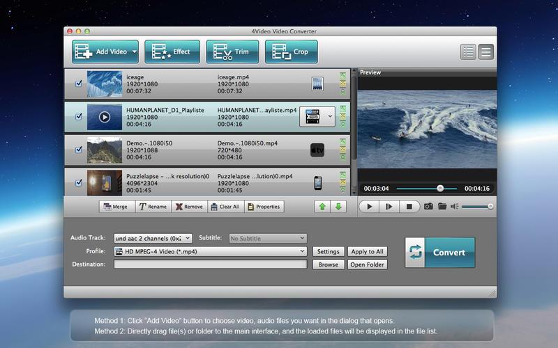 2014年7月31日Macアプリセール 3Dビデオ製作ツール「4Video 3D 変換」が値下げ!