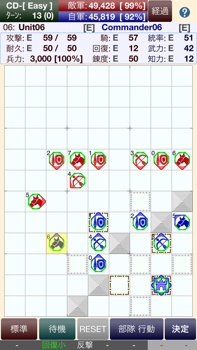 槍・弓・騎〜城 screenshot1