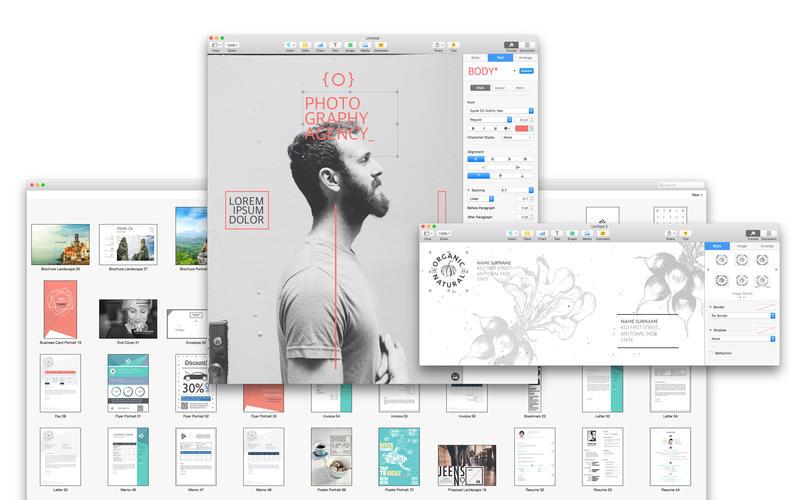 2015年10月19日Macアプリセール ページテンプレートコレクションアプリ「Templates for MS Word」が値下げ!