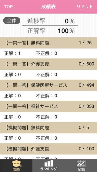 ケアマネジャー試験一問一答+模擬問題2015 Screenshot
