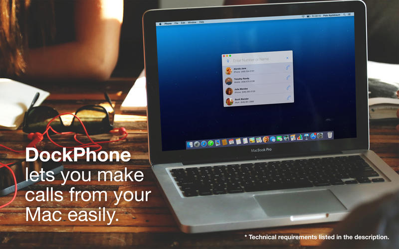 2014年2月16日Macアプリセール パソコン電話アプリ「DockPhone」が値下げ!