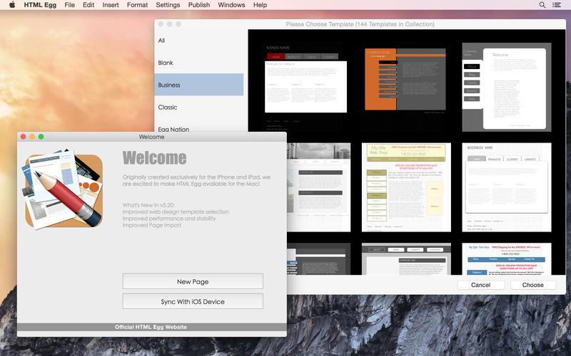 2015年7月25日Macアプリセール WEBページエディターツール「HTML Egg Classic Edition」が値下げ!