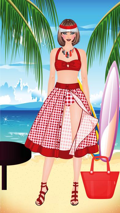 ビキニファッションドレスアップとメイクアップゲームのおすすめ画像3