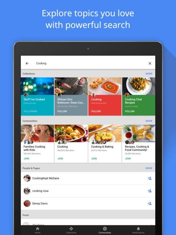Google+ - 興味、コミュニティ、発見 Screenshot