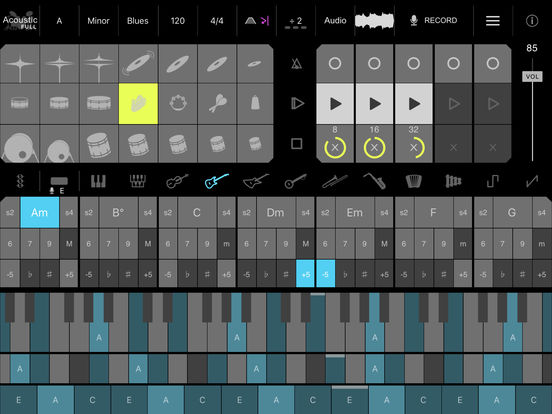 Firo - Music Maker, Instrument, Drums, Chords, Looper, and MIDI Controllerのおすすめ画像2