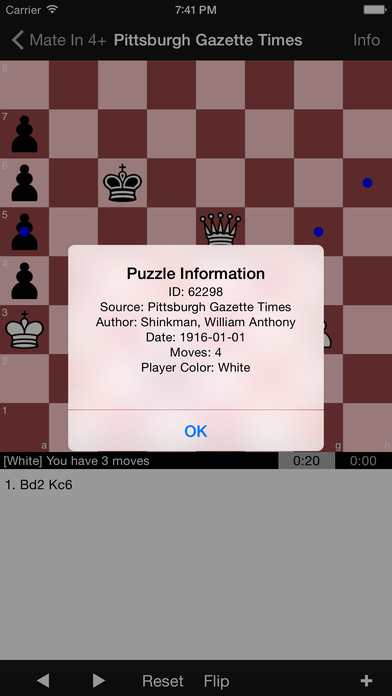 Mate in 4+ Puzzles screenshot1