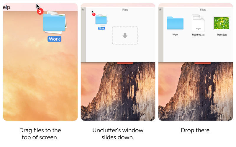 Unclutter - Files, Notes and Clipboard Manager Screenshot