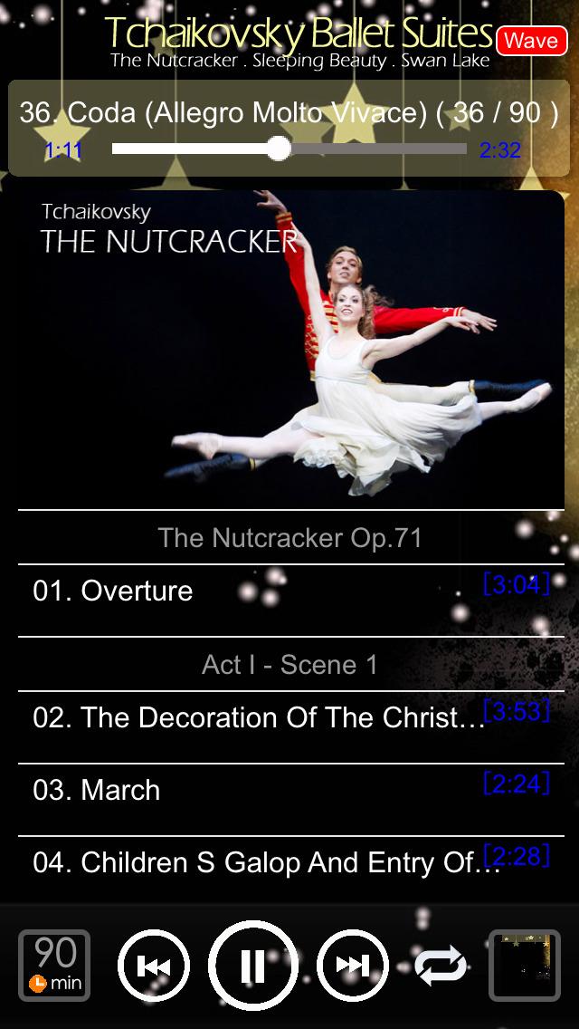 チャイコフスキーのバレエ : Tchaikovsky Ballet Suites : Swan Lake . The Nutcracker . Sleeping Beautyのおすすめ画像4