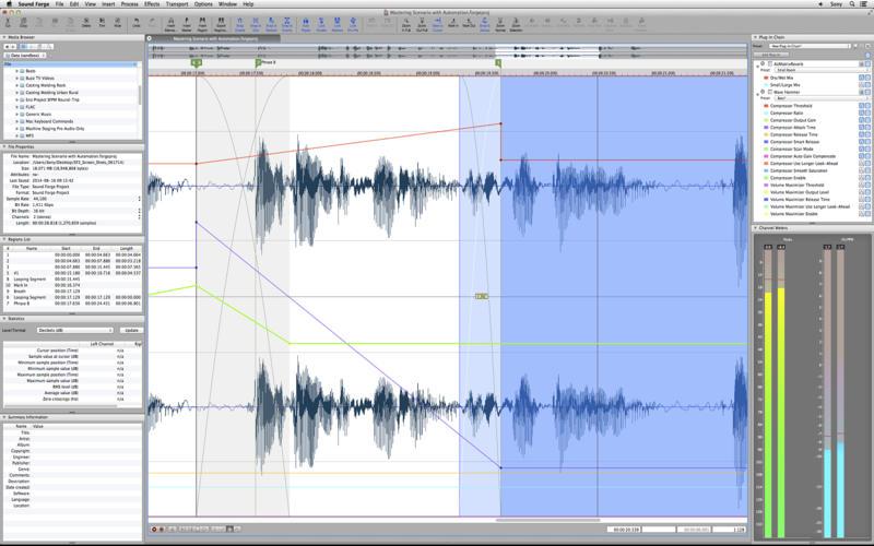 2014年11月12日Macアプリセール オーディオファイル編集アプリ「Sound Forge 2」が値下げ!
