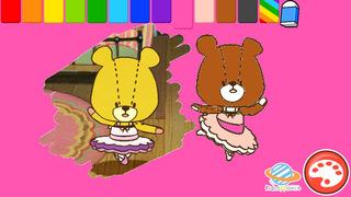 親子で一緒に楽しめる幼児・子供向け無料アプリ「がんばれ!ルルロロのぬりえ絵本」色彩感覚と感性を豊かにする知育学習のおすすめ画像3