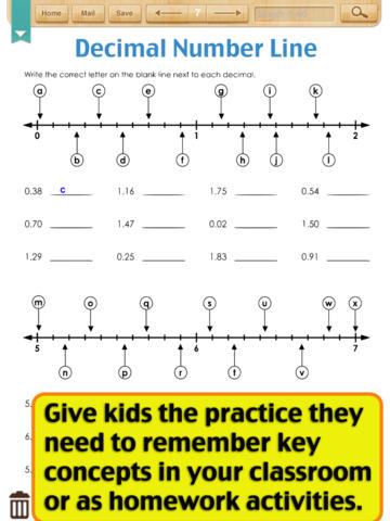 math worksheet : kids math decimal worksheets grade 4 on the app store : Compare Decimals Worksheets
